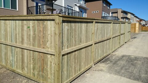 Fences barrett quality builders for Fortress fence design